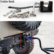 1:10 RC Metal Tow Shackle Trailer Hook Set For Axial SCX10 TAMIYA TRX-4 Crawler