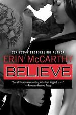Believe by Erin Mccarthy Paperback Book (English) 2014