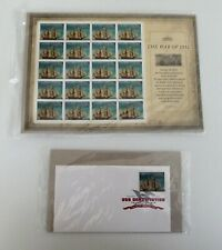 USPS 2012 War of 1812, USS Constitution, 20 Forever Stamps, 1DCP, 4703, Sealed