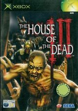 The House of the Dead III Microsoft Xbox 15+ Action Shooter Game