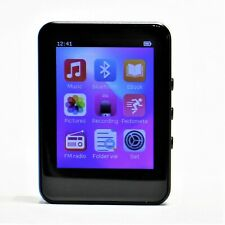 New listing Mp3 Player with Bluetooth Touch Screen 32Gb Wearable Clip Black