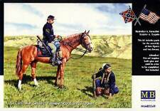 Masterbox Yankee Scout And Tracker U.S.Civil War 1:3 5 Indians Horses Horses Kit