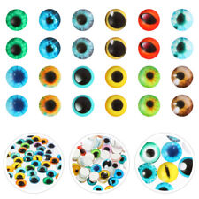 100pcs Durable  Lightweight Glass  Safety Eyes for Plush Doll Dolls