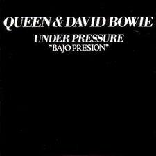CD Single QUEEN & David BOWIE Under pressure + Spain + 2-track CARD SLEEVE