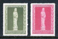 Philippines 632-633,MNH.Michel 608-609. Eucharistic Congress.Statue of Christ.