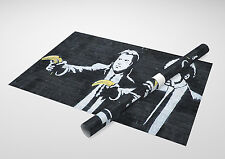 "Banksy - Pulp Fiction Bananas. Archival Canvas Print 30"" x 20"""