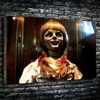 Annabelle Doll Horror Movie Printed Canvas Picture Multiple Sizes