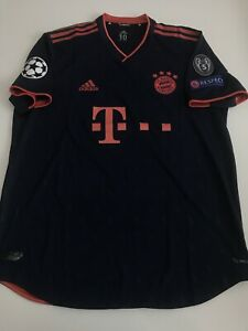 FC Bayern München matchworn Trikot Süle Gr. 10 Spielertrikot Player Issue Triple