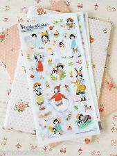 Pony Brown Heeda Stickers cute cartoon girl animals diary planner scrapbooking