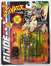 VINTAGE! STILL SEALED! 1995 Hasbro GI Joe Sgt Savage Jungle Camo D-Day