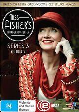 Miss Fisher's Murder Mysteries : Series 3 : Part 2 (DVD, 2015, 2-Disc Set) D65
