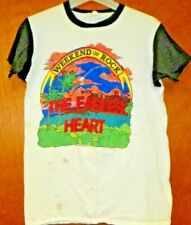 Vintage 1980 Eagles With Heart Weekend Of Rock Large Concert Tee