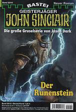 John Sinclair ROMANZO N. 2010-la pietra Rune-Alfred Bekker NUOVO