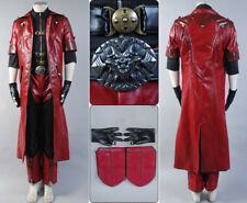 DMC4 Devil May Cry IV Dante Costume Cosplay Halloween Outfit Coat Suit Full Set