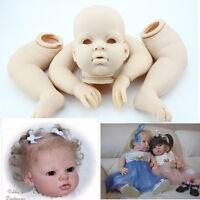Reborn Dolls & Supplies Arrianna Doll Kit 28 Inch Lifelike Silicone Vinyl Reborn