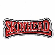 SKINHEAD OI! METAL NEW HEAVY ROCK Embroidered Patch Iron Sew Logo Emblem Custom
