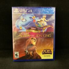 Disney Classic Games Aladdin and The Lion King (PlayStation 4 /PS4) BRAND NEW