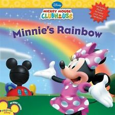 Mickey Mouse Clubhouse Minnie's Rainbow [With Mylar Mirror (to Ma by Disney Book