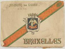 ALBUM DE LUXE BRUXELLES BELGIO BELGIQUE 24 FOTO BORSA STOCK EXCHANGE BELGIUM
