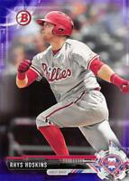 2017 Bowman Prospects Baseball Cards Purple Pick From List /250