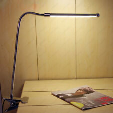 6W LED Table Book Reading Light Clamp Clip-on Lamp Switch Plug USB Power Supply