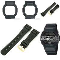 Genuine Casio Watch Band & Bezel f/ G-Shock GW-5600 GW5600BJ-1 Black Strap Shell