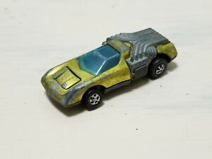 Vintage Hot Wheels Redline 1970 Noodle Head Yellow