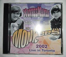The Monkees Davy Jones Micky Dolenz MonkeeMania Live In Toronto 2002 SEALED CD