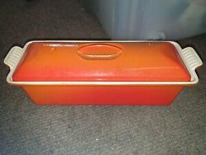 Le Creuset 28 Lidded Terrine Orange