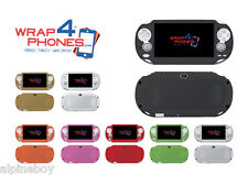 Textured Carbon Skin Cover Sticker Decal Vinyl Wrap Case For Sony PS Vita 2000