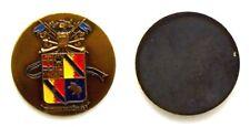 Medaglia Placchetta Militare Scuola Di Applicazione Esercito Italiano Bronzo