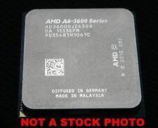 AMD A6-3600 socket FM1 quad core CPU AD3600OJZ43GX 2.1-2.4 GHz Llano HD6530D GPU