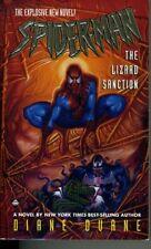 Marvel Comics Spider-Man The Lizard Sanction Diane Duane Paperback Book