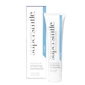SUPERSMILE WHITENING TOOTHPASTE 119g (Icy Mint) Bad Breath Halitosis Teeth