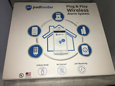 Padfender Wireless Home Security Alarm System Gold Package NEW