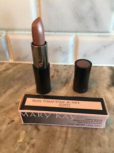 MARY KAY Creme Lipstick MOCHA FREEZE NEW with Box .13 oz (022832) ~
