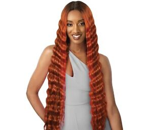 *Limited Time Only* OUTRE Synthetic Crimp Hair Swiss HD Lace Front Wig - ANABEL