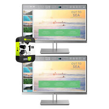 """Hewlett Packard 23"""" Full HD LED Monitor 2 Pack(1FH46A8#ABA)+2x Extended Warranty"""
