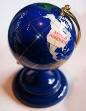 Blue Antique World Desks/Tabletops Globes