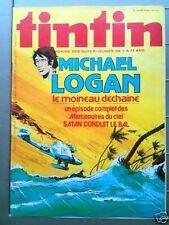 Tintin n° 154 - 8/78  Dossier Les pompiers du ciel