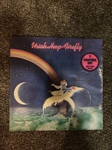 Uriah Heep - Firefly - Promo vinyl LP- BS 3013 - EX/G+