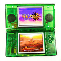 Clear Green Refurbished Nintendo DS Lite Game Console NDSL Video Game System