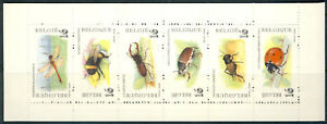 "1996 Belgium cplt.MNH Booklet of 6 stamps ""Bugs"""