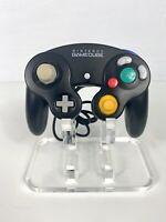 Official Nintendo OEM Gamecube Controller Black DOL-003 Tested