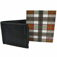 Mala Leather Mens Black BiFold Wallet Neo Collection