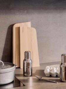 Menu Norm Bottle Grinders Salt and Pepper Shakers Mill Set of 2 Polished Steel