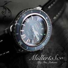 "Müller&Son Seiko SNZH Watch Fifty Five Fathoms SuperMod ""A""+Seiko Metal Bracelet"