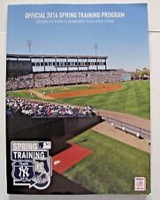 New York Yankees Official 2016 Spring Training Program Tampa Florida Collectible
