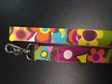 Tepper Jackson Dog Leash (48 Inches) Groovy Flower Print