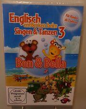 Englisch entdecken beim Singen und Tanzen (3) + Ben & Bella Spaß Kinder DVD #T7